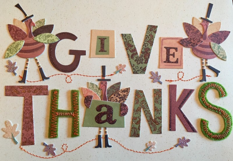 Please share our thanks for giving
